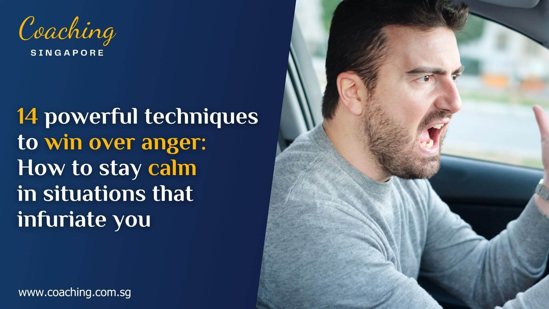 How to win over your anger