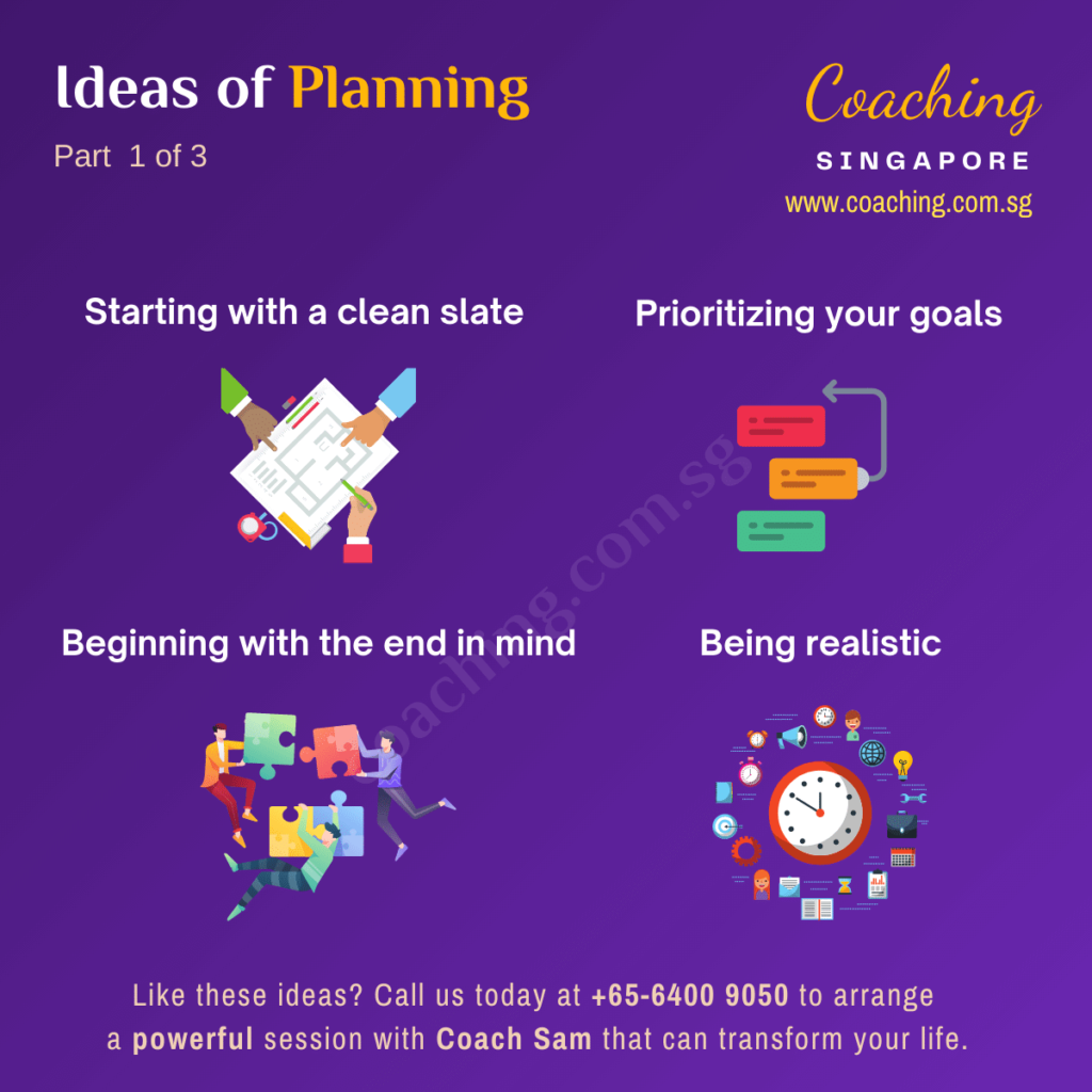 How to plan effectively?