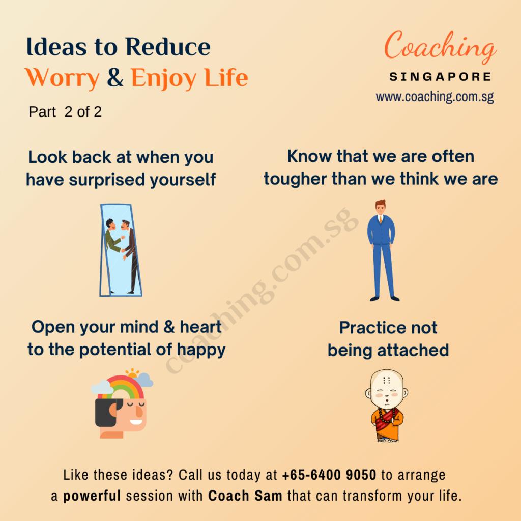 How to reduce worry & enjoy life?